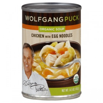 Wolfgang Puck's Soup Chicken with Egg Noodles Organic