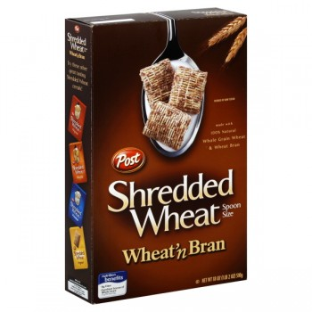 Post Healthy Classics Cereal Shredded Wheat 'N Bran Spoon Size