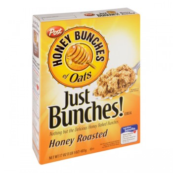 Post Honey Bunches of Oats Just Bunches! Cereal Honey Roasted