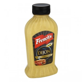 French's Mustard Dijon with Chardonnay
