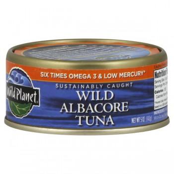 Wild Planet Tuna Wild Albacore Low Mercury Sustainably Caught