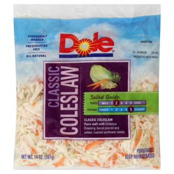 Cole Slaw Dole Fresh Favorites Classic