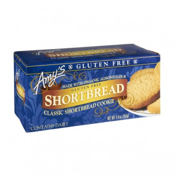 Amy's Shortbread Cookies Classic Gluten Free