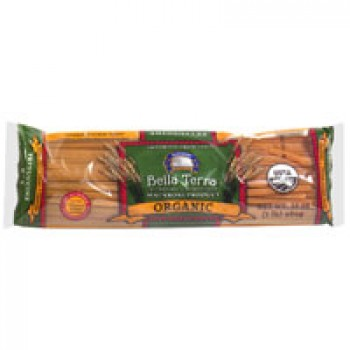 Bella Terra Pasta Fettuccini 100% Whole Wheat All Natural Organic