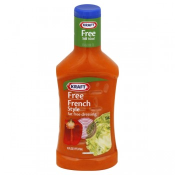 Kraft Free Salad Dressing French Style