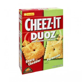 Sunshine Cheez-It Duoz Crackers Sharp Cheddar & Parmesan