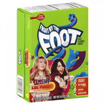 Betty Crocker Fruit by the Foot iCarly LOL Punch - 6 ct