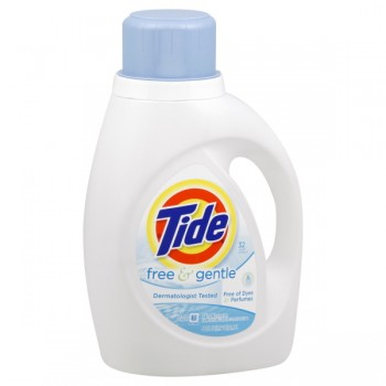 Tide Ultra Liquid Laundry Detergent Free & Gentle