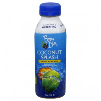 Bolthouse Bom Dia Coconut Splash Tropical Mango Natural Refrigerated Water