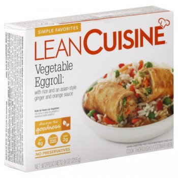 Lean Cuisine Simple Favorites Egg Rolls Vegetable