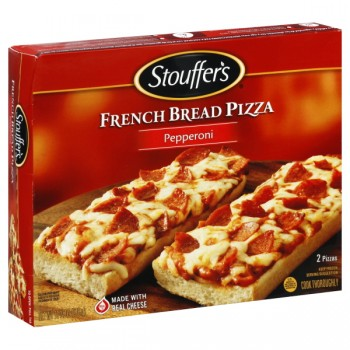 Stouffer's Pizza Pepperoni French Bread Frozen - 2 ct