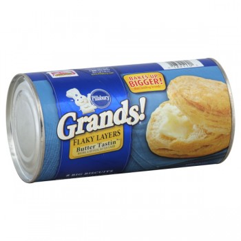 Pillsbury Grands! Biscuits Butter Tastin' Flaky Layers - 8 ct