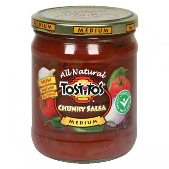 Tostitos Salsa Chunky Medium All Natural