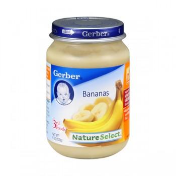 Gerber 3rd Foods Nature Select Bananas