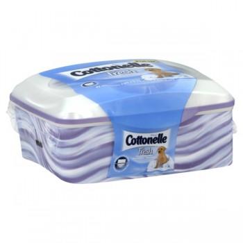 Cottonelle Pop-up Wipes Flushable