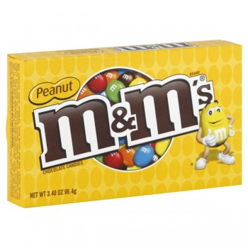 M & M's Candies Milk Chocolate Peanut Theatre Box