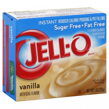 Jell-O Instant Pudding & Pie Filling Vanilla Fat Free Sugar Free