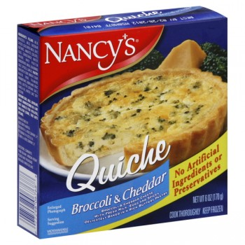 Nancy's Baked Quiche Broccoli & Cheddar