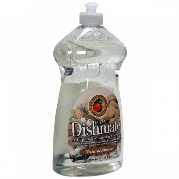 Earth Friendly Ultra Dishmate Dish Liquid Natural Almond