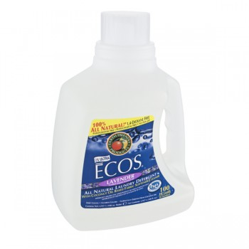 Earth Friendly Ecos 2X Ultra Liquid Laundry Detergent HE Lavender