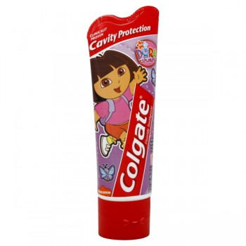 Colgate Kids Toothpaste Dora the Explorer Mild Bubble Fruit