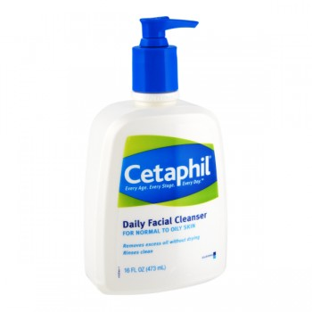 Cetaphil Daily Facial Cleanser for Normal to Oily Skin Pump