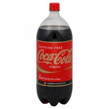 Caffeine Free Coca-Cola Classic - 2 Liter