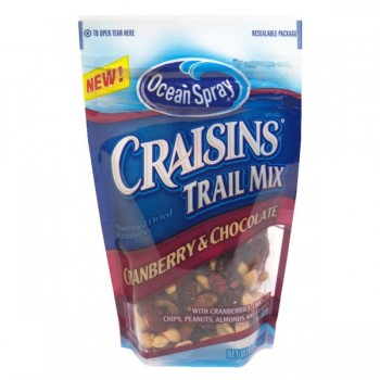 Ocean Spray Craisins Trail Mix Cranberry Chocolate