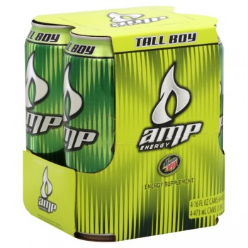 AMP Energy Drink - 4 pk