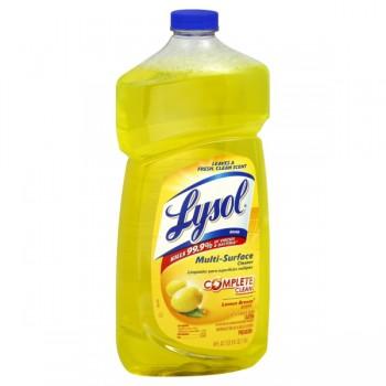 Lysol Complete Clean Multi-Surface Cleaner Lemon Breeze