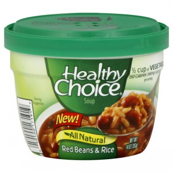 Healthy Choice Red Beans & Rice Microwavable