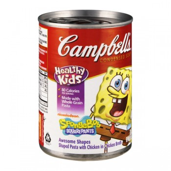 Campbell's Kids Condensed Soup SpongeBob SquarePants Pasta Shapes