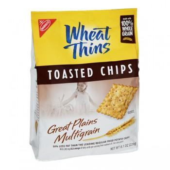Nabisco Wheat Thins Toasted Chips Multigrain