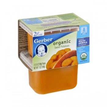 Gerber 2nd Foods Sweet Potatoes Organic - 2 pk