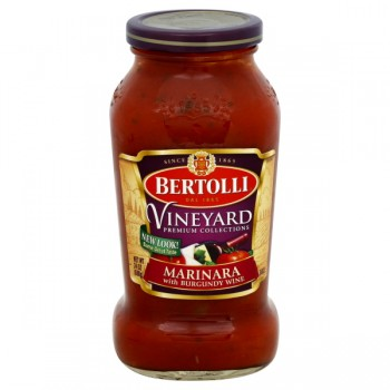 Bertolli Vineyard Pasta Sauce Marinara with Burgundy Wine
