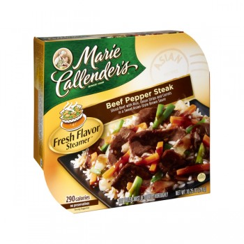Marie Callender's Fresh Flavor Steamer Beef Pepper Steak