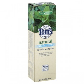 Tom's of Maine Natural Anticavity Fluoride Toothpaste Spearmint