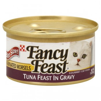 Fancy Feast Wet Cat Food Marinated Tuna Feast in Savory Juices