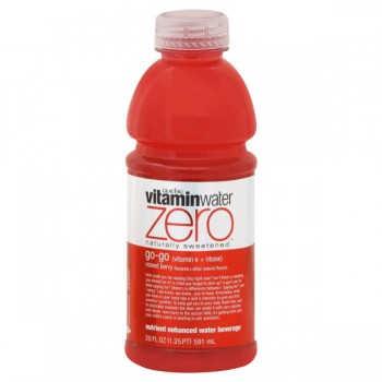 Glaceau Vitamin Water Zero Go-Go Mixed Berry Flavored
