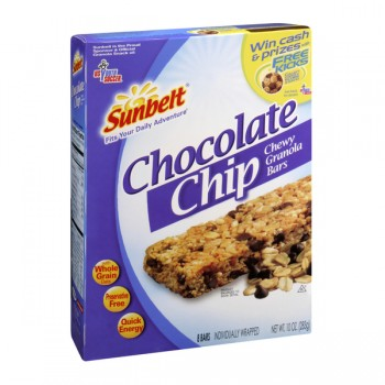 Sunbelt Chewy Granola Bars Chocolate Chip - 8 ct