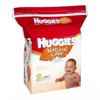 Huggies Natural Care Baby Wipes Scented Refill