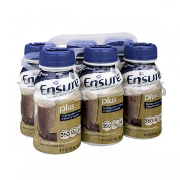 Ensure Plus Nutrition Shake Creamy Milk Chocolate - 6 pk