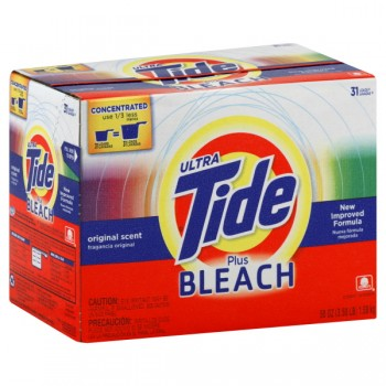 Tide Powder Laundry Detergent with Bleach Concentrated