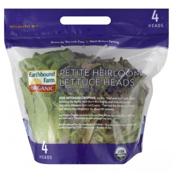 Lettuce Petite Heirloom Organic Earthbound Farm