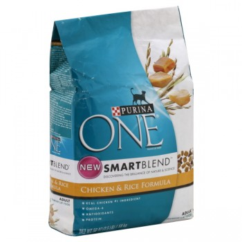 Purina ONE SmartBlend Dry Cat Food Chicken & Rice