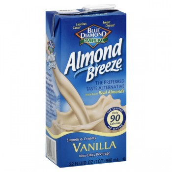 Blue Diamond Almond Breeze Beverage Non-Dairy Vanilla