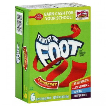 Betty Crocker Fruit by the Foot Strawberry - 6 ct
