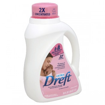Dreft 2X Ultra Concentrated Liquid Laundry Detergent