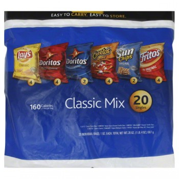 Frito-Lay Variety Pack Classic Mix - 20 ct