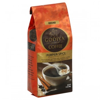 Godiva Pumpkin Spice Coffee (Ground)